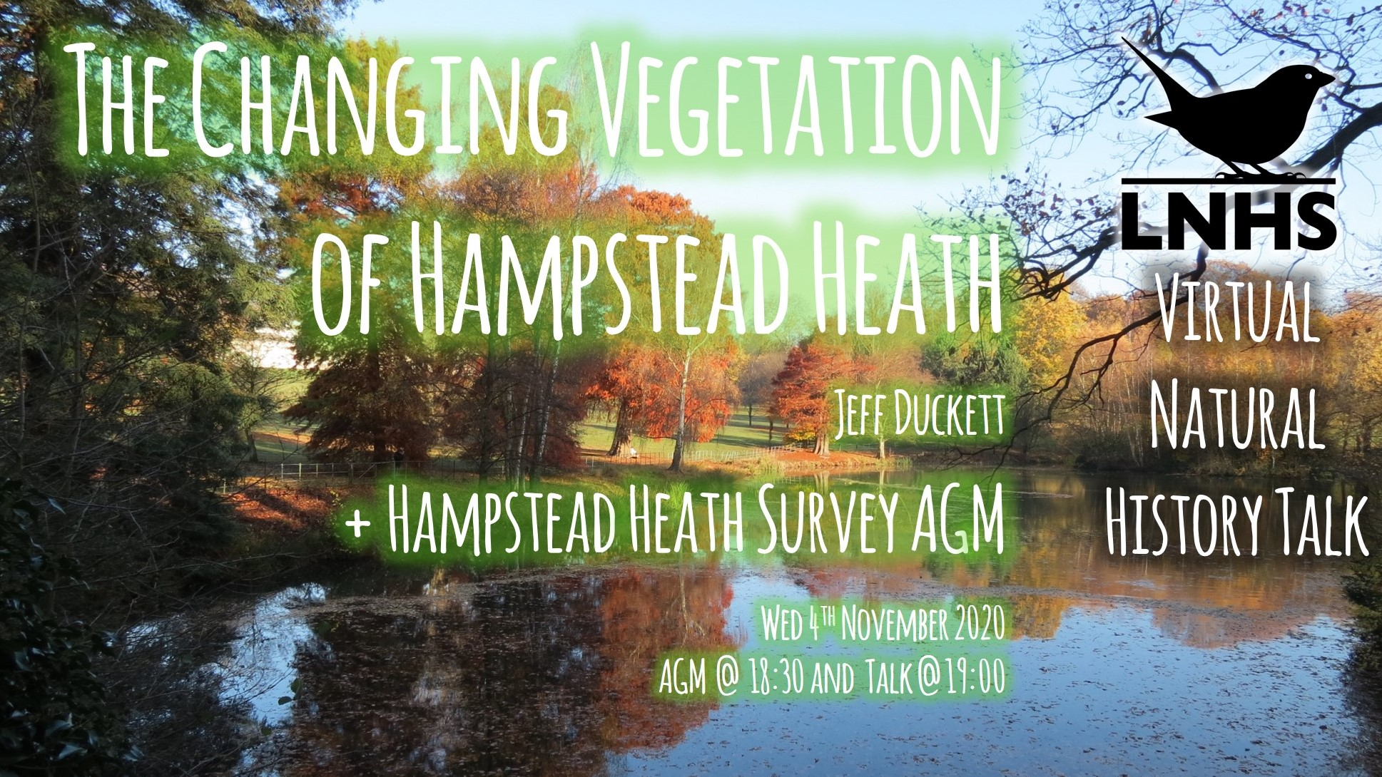 Changing Vegetation of Hampstead Heath AD