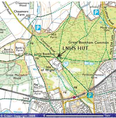Bookham map32K