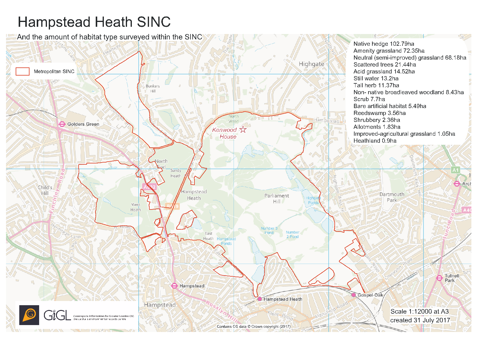 Hampstead Heath SINC