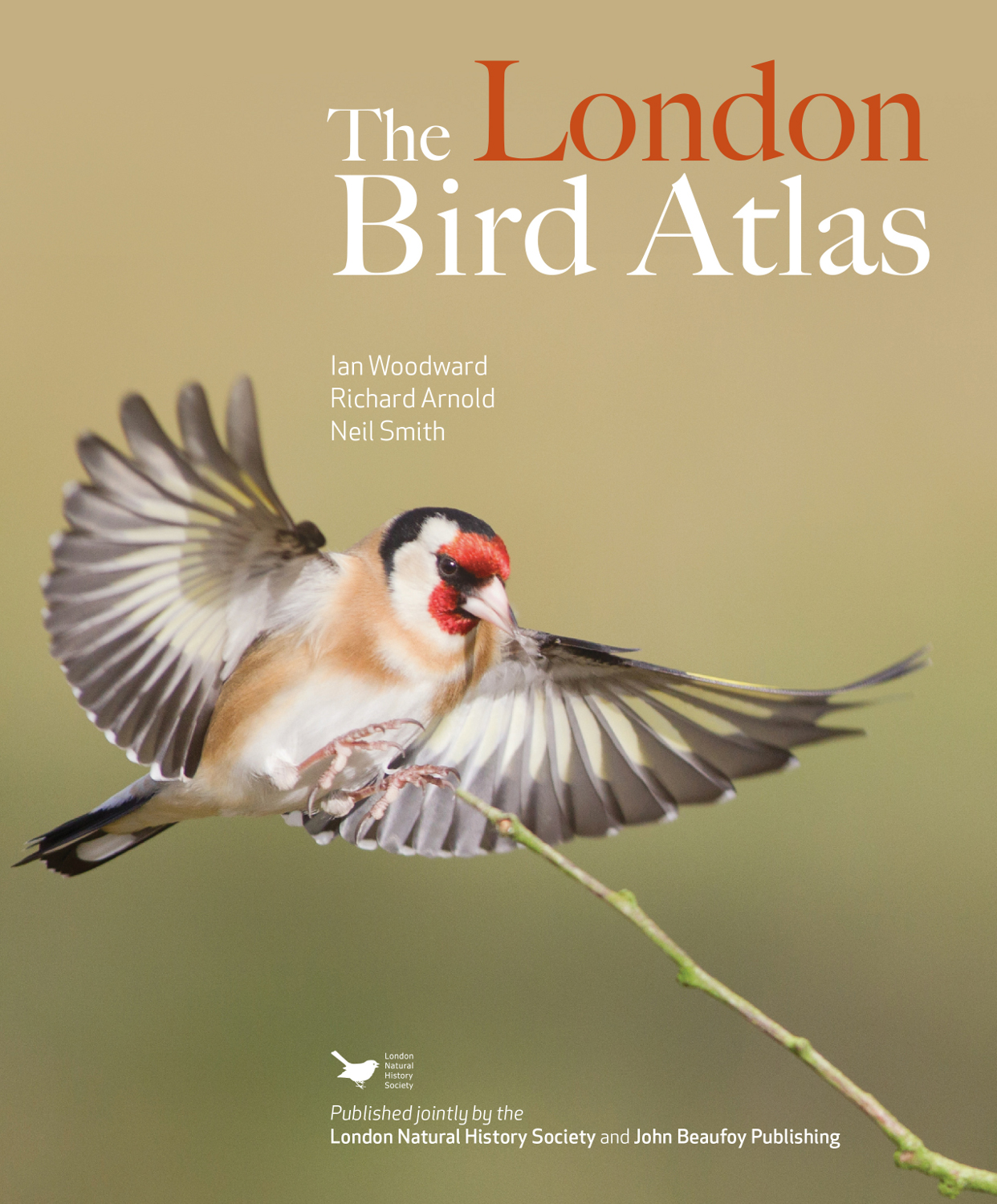 London Bird Atlas Cover